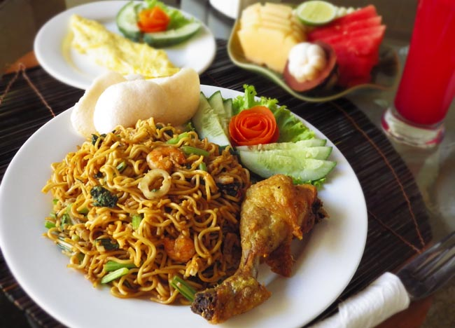 Indonesia Breakfast Mie Goreng